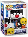 Looney Tunes Space Jam - A New Legacy - Sylvester & Tweety Vinyl Figur 1087 powered by EMP (Funko Pop!)