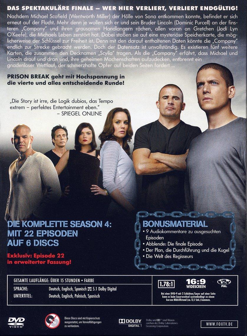 prison break serien stream staffel 4