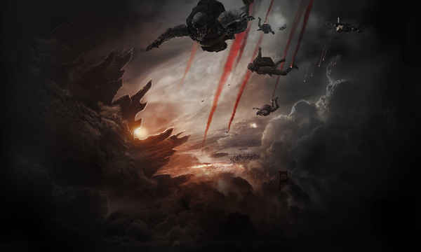 'Godzilla' Warner 2014