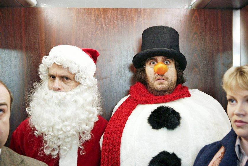 Zwei Weihnachtsmänner Film