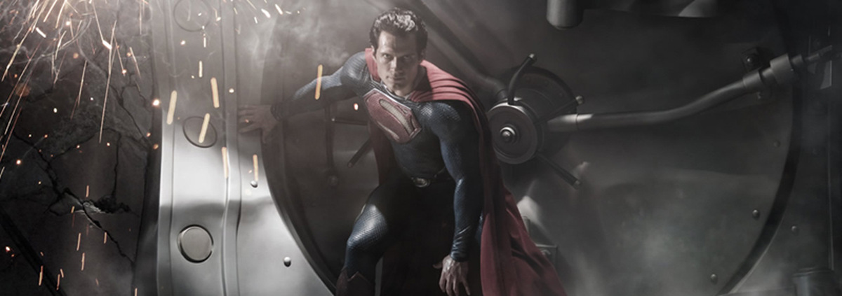 Cavill ist Superman: Man of Steel: Henry Cavill spielt modernen Superman