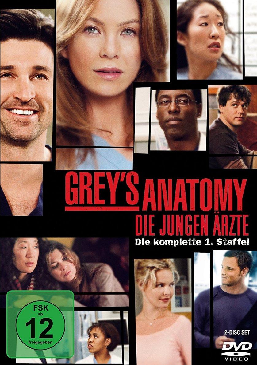 Grey\'s Anatomy - Staffel 1: DVD oder Blu-ray leihen - VIDEOBUSTER.de