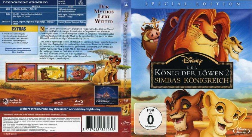 König der löwen 2 stream deutsch