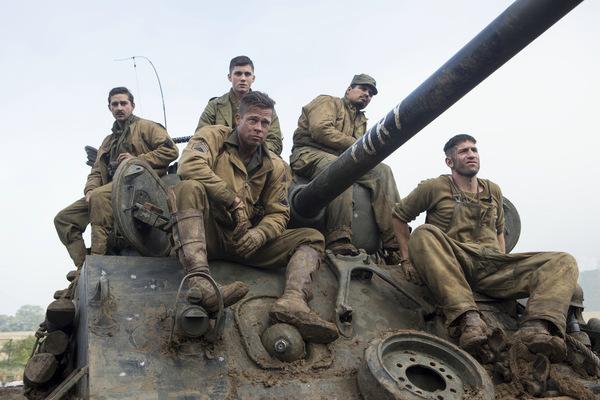 Die Besatzung des Sherman-Panzers © Sony Pictures