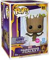 Guardians Of The Galaxy Marvel Experience: Groot (Mega Pop!) (Funko Shop Europe) (Flocked) Vinyl Figur 01 powered by EMP (Funko Pop!)