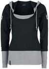 Supernatural Hunter Inside Sweatshirt schwarz grau powered by EMP (Sweatshirt)