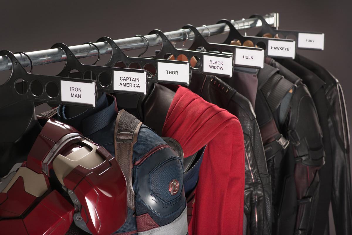 Aus der Kleiderkammer von 'The Avengers 2' (USA 2015) Pressematerial © Walt Disney Studios Motion Pictures Germany