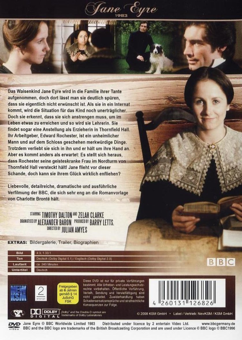 charlotte brontes jane eyre an Charlotte brontë's most beloved novel describes the passionate love between  the courageous orphan jane eyre and the brilliant, brooding, and domineering.