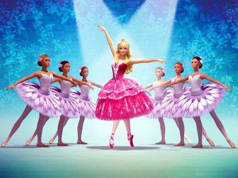 Barbie in Die verzauberten Ballettschuhe