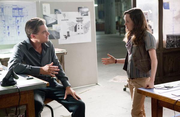 ... und 2010 an Leonardo DiCaprios Seite in 'Inception' © Warner Bros.