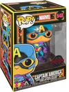 Marvel Black Light - Captain America Vinyl Figur 648 powered by EMP (Funko Pop!)