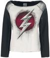 The Flash Red Logo Sweatshirt schwarz grau powered by EMP (Sweatshirt)