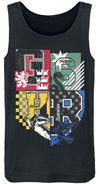 Harry Potter Four Houses powered by EMP (Tank-Top)