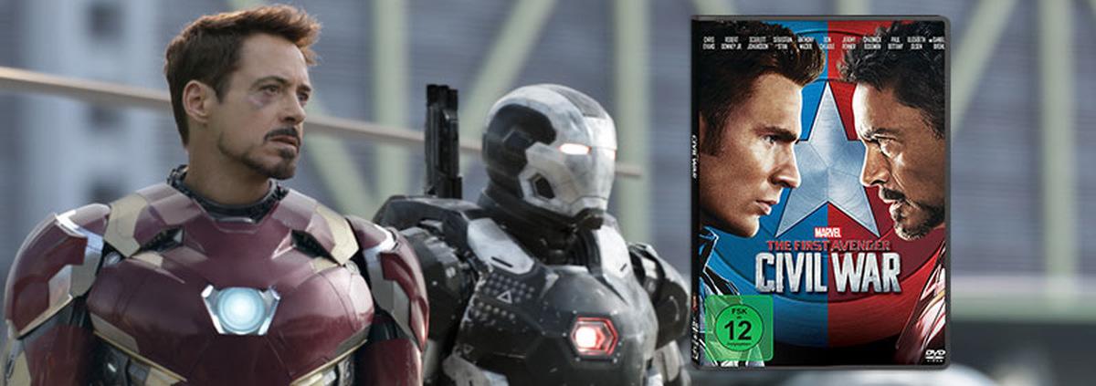 First Avenger: Civil War: Ein bitterer Kampf unter Freunden entfacht!