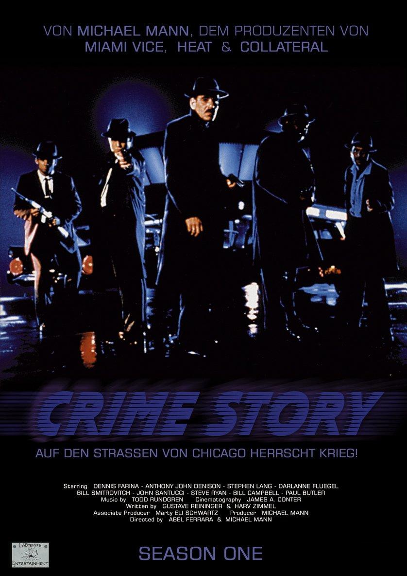 Crime Story - Staffel 1: DVD oder Blu-ray leihen
