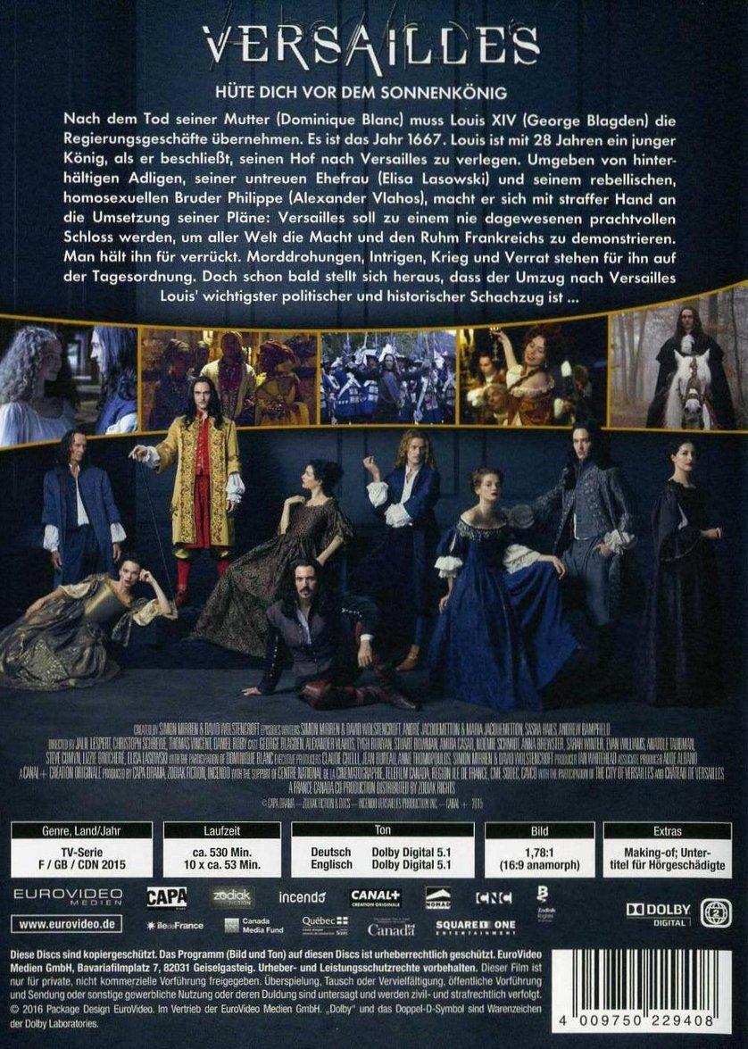Versailles Serie Staffel 1
