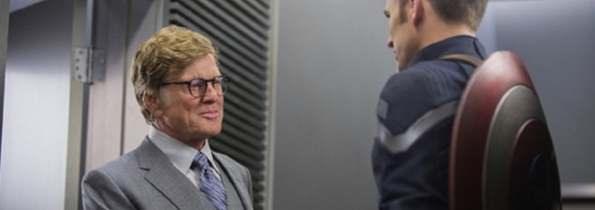 Captain America: Robert Redford im neuen Captain America