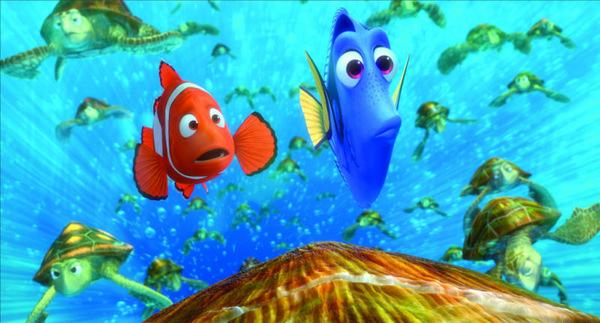 Marlin und Dorie in 'Findet Nemo' © Walt Disney 2003