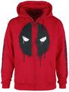 Deadpool Deadpool - Logo powered by EMP (Kapuzenjacke)