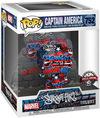 Captain America Captain America (Graffitti Deco) (Super Pop!) Vinyl Figur 752 powered by EMP (Funko Pop!)