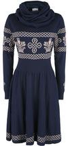 Outlander Outlander Mittellanges Kleid blau grau powered by EMP (Mittellanges Kleid)
