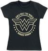 Wonder Woman Girls Rule The World powered by EMP (T-Shirt)