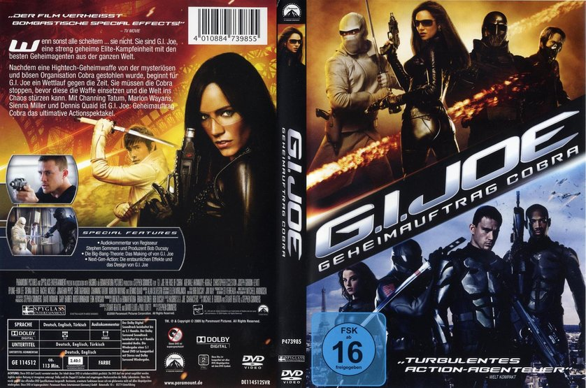 g i joe geheimauftrag cobra dvd oder blu ray leihen. Black Bedroom Furniture Sets. Home Design Ideas