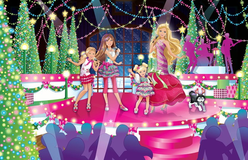 Malvorlagen Barbie Zauberhafte Weihnachten My Blog
