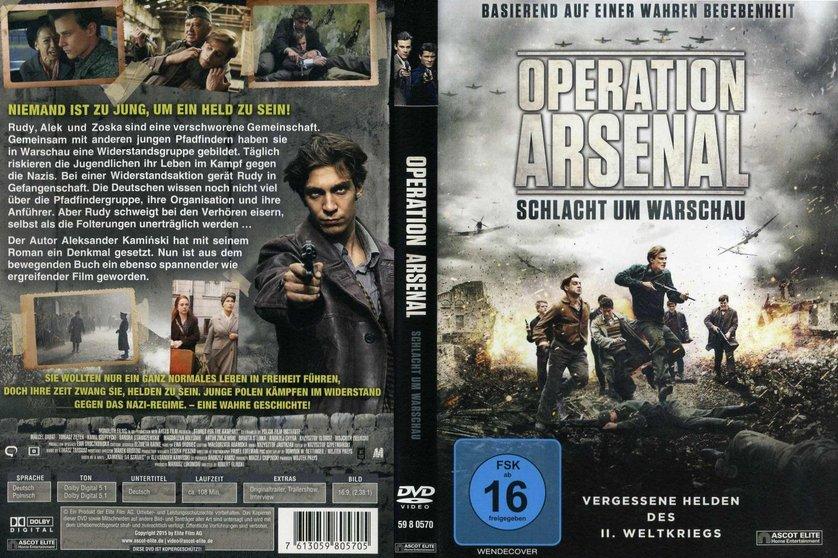 Operation Arsenal Operation Arsenal DVD Bluray oder VoD leihen VIDEOBUSTERde