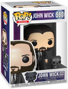 John Wick Kapitel 3 - John Wick with Dog Vinyl Figur 580 powered by EMP (Funko Pop!)