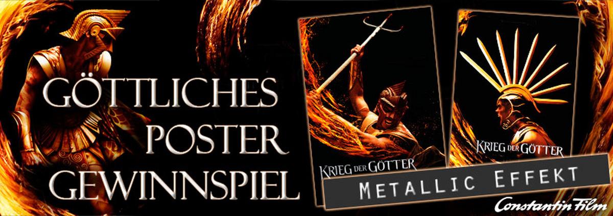 Krieg der Götter Gewinnspiel: Mit Fortunas Hilfe Filmposter zum Krieg der Götter gewinnen!