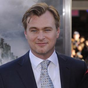 Autorenfilmer Christopher Nolan vor der Aufführung