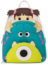Monsters Inc. Loungefly - Boo, Mike & Sully powered by EMP (Mini-Rucksack)