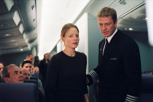 Jodie Foster und Sean Bean in 'Flightplan' © Touchstone 2005