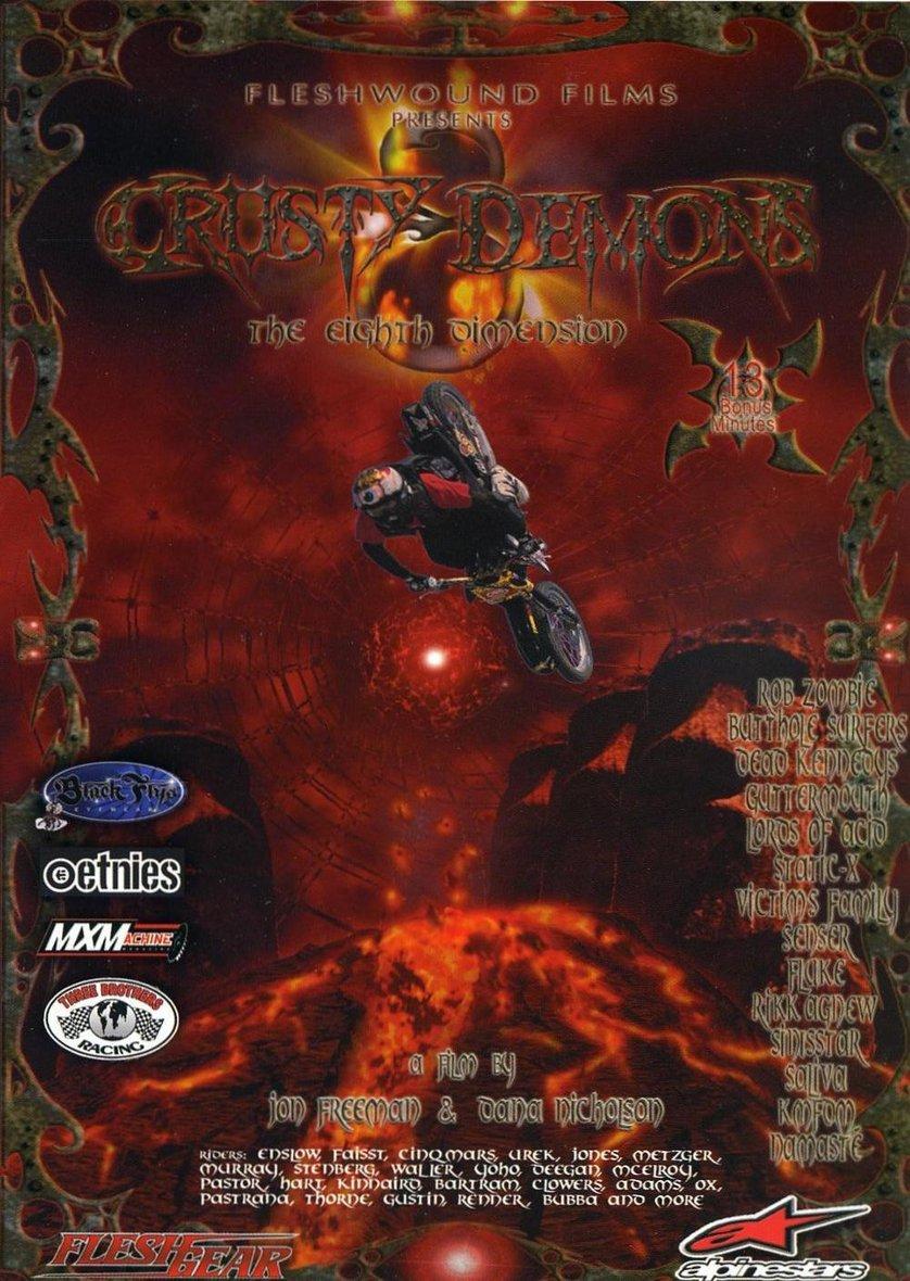 Crusty Demons of Dirt 8: DVD oder Blu-ray leihen