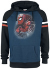 Spider-Man The Amazing Spider-Man Kapuzenpullover blau schwarz powered by EMP (Kapuzenpullover)