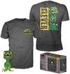 Jurassic Park Clever Raptor (Transluscent) - POP! & Tee powered by EMP (Funko Pop!)