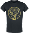 Jägermeister Logo gold powered by EMP (T-Shirt)