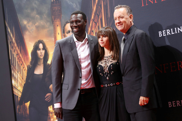 Omar Sy, Felicity Jones und Tom Hanks