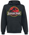 Jurassic Park Distressed Logo powered by EMP (Kapuzenpullover)