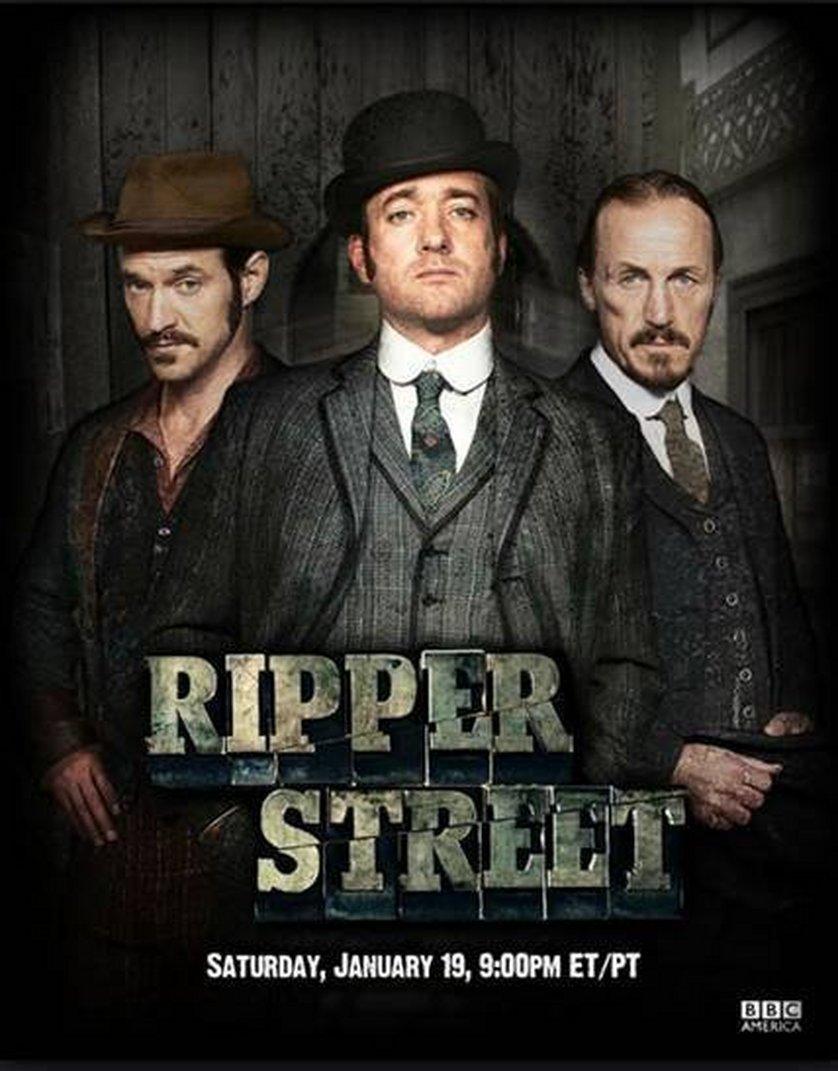 Ripper Street Staffel 1