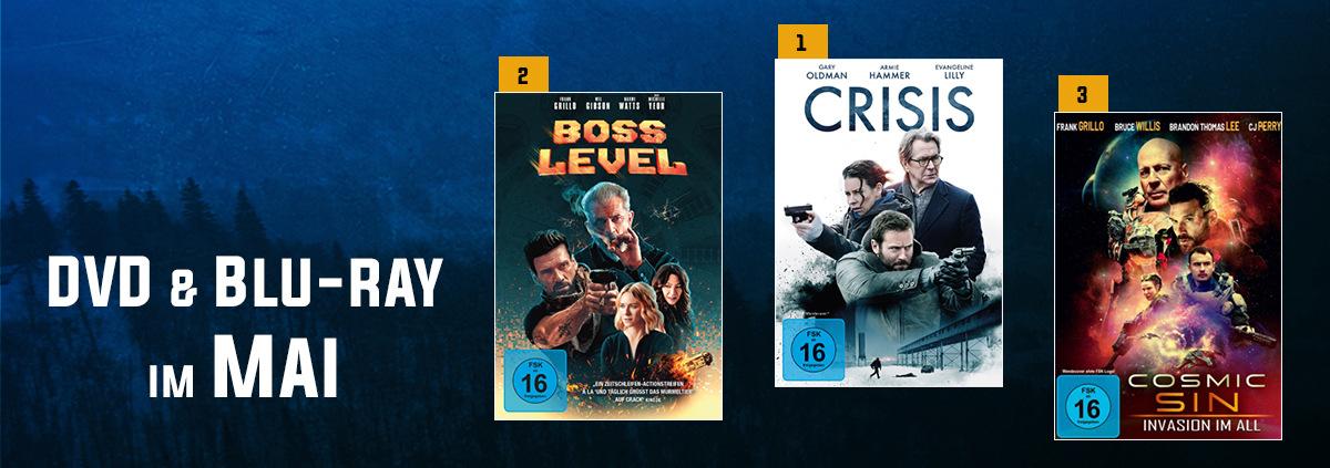 DVD & Blu-ray Charts 05-2021: Bruce Willis im Doppelpack in den DVD & Blu-ray Charts