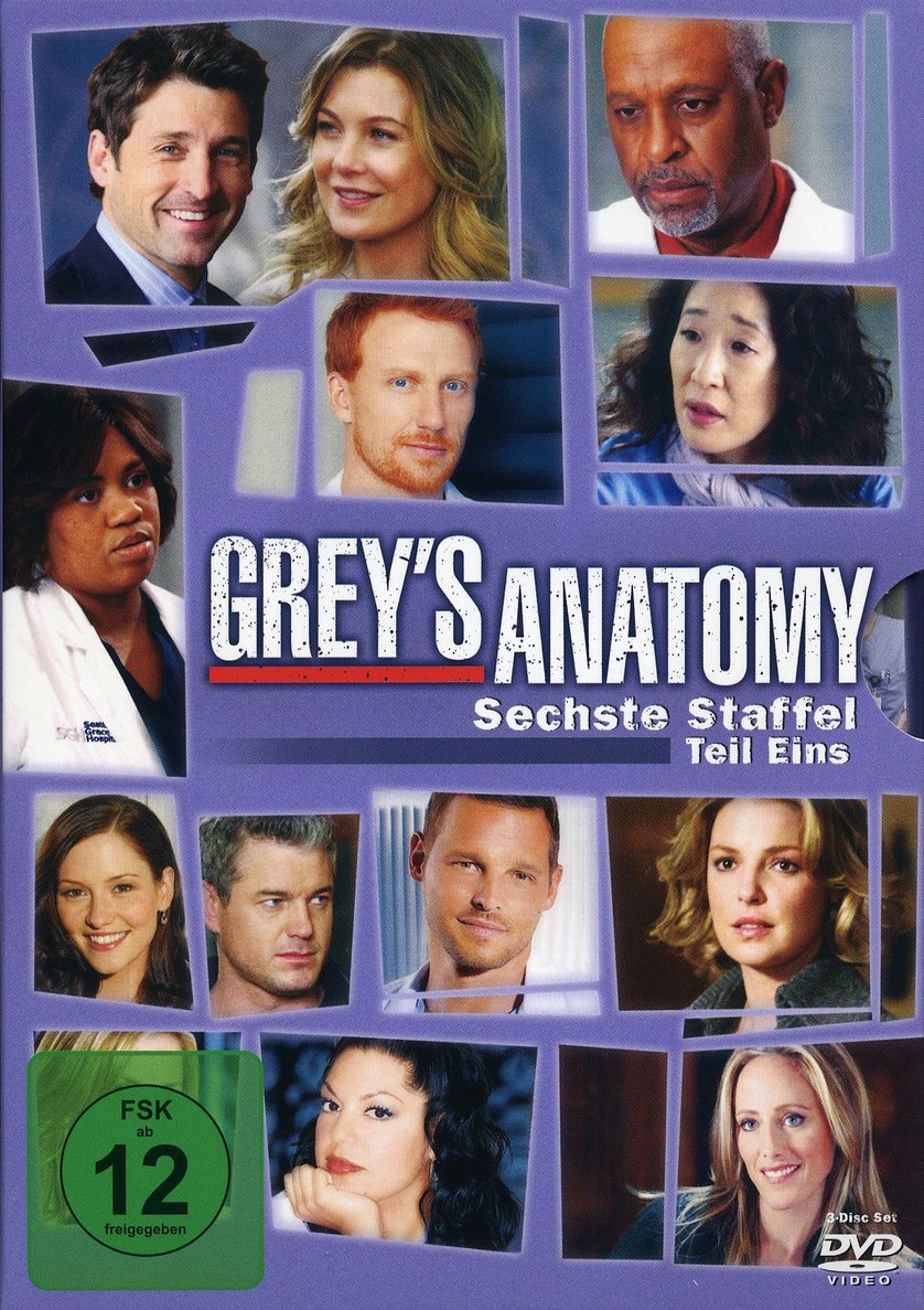 Grey\'s Anatomy - Staffel 6: DVD oder Blu-ray leihen - VIDEOBUSTER.de