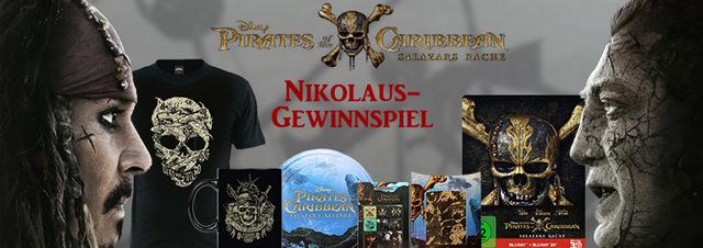 Nikolaus-Gewinnspiel: Ahoi, Kameraden! Jetzt Mega-Fanpakete gewinnen