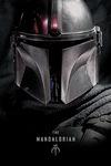 Star Wars The Mandalorian - Dark Warrior powered by EMP (Poster)