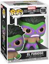 Hulk El Furioso - Marvel Luchadores - Vinyl Figur 708 powered by EMP (Funko Pop!)