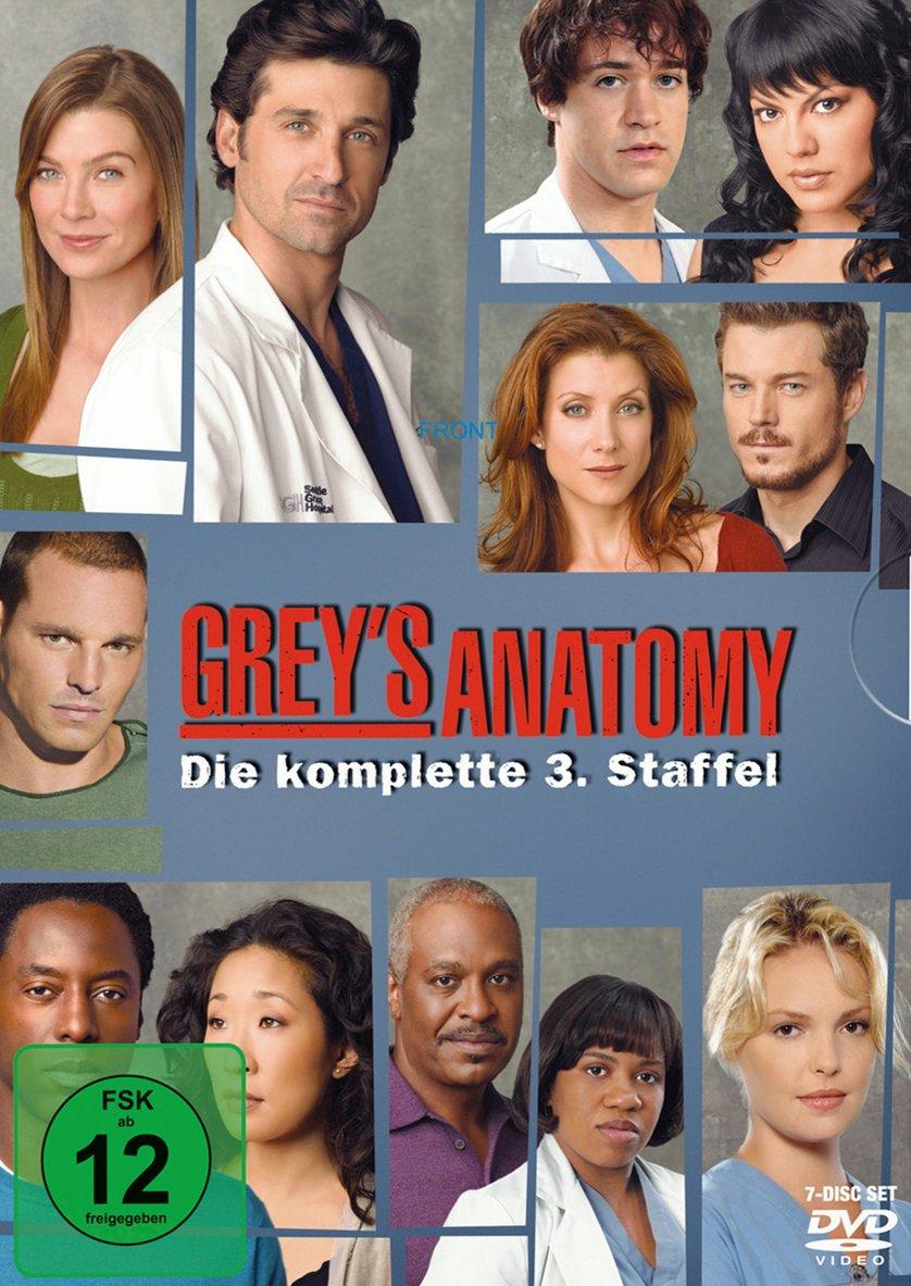 Grey\'s Anatomy - Staffel 3: DVD oder Blu-ray leihen - VIDEOBUSTER.de