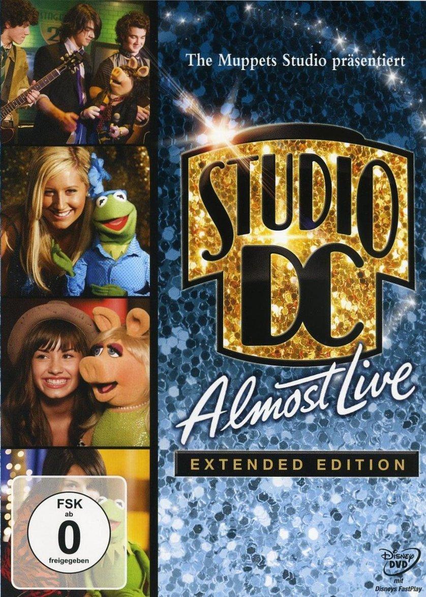 die muppets studio dc almost live dvd oder blu ray. Black Bedroom Furniture Sets. Home Design Ideas