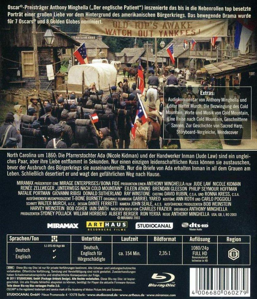 Unterwegs Nach Cold Mountain Dvd Oder Blu Ray Leihen Videobuster De