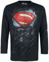 Superman Ripped powered by EMP (Langarmshirt)